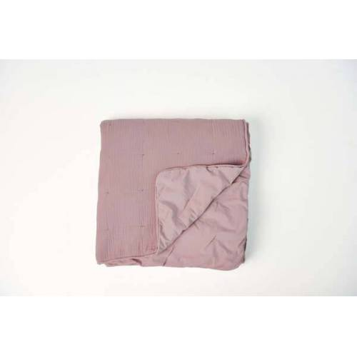 #lavie Quilt / Tagesdecke - Nora ash rose