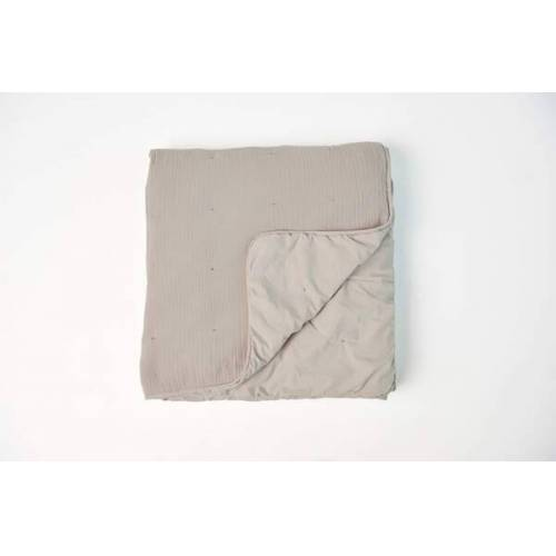 #lavie Quilt / Tagesdecke - Nora taupe