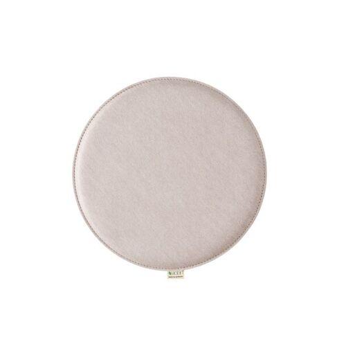 Metz Stylische Sitzkissen Violan Circle 33 Cm pebble