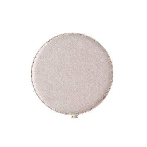 Metz Stylische Sitzkissen Violan Circle 39 Cm pebble