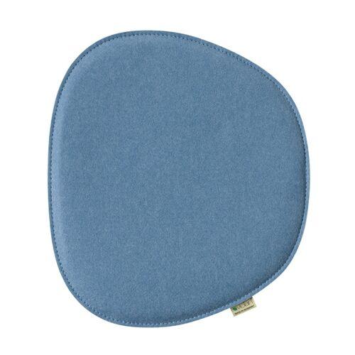 "Metz Sitzkissen ""Eames Side Chair"" 40,5cm x 36,5cm ice/blue"