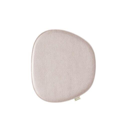 """Metz Sitzkissen """"Eames Side Chair"""" 40,5cm x 36,5cm pebble"""