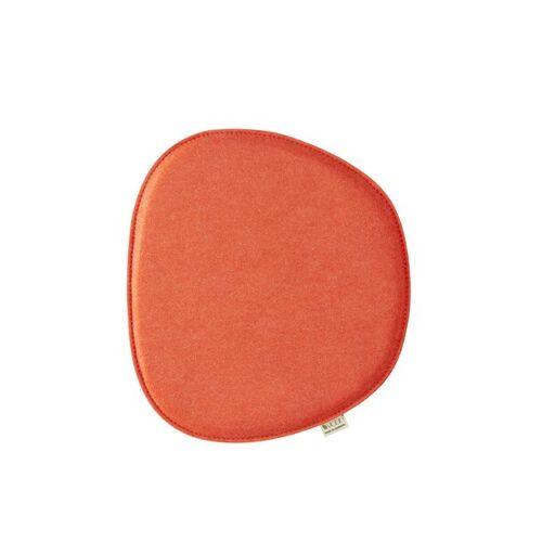 "Metz Sitzkissen ""Eames Side Chair"" 40,5cm x 36,5cm orange"