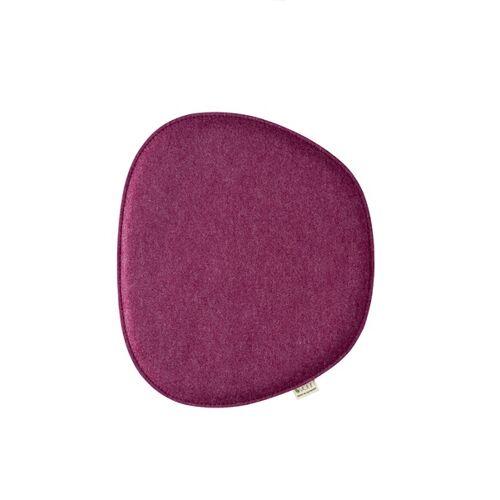 "Metz Sitzkissen ""Eames Side Chair"" 40,5cm x 36,5cm berry"