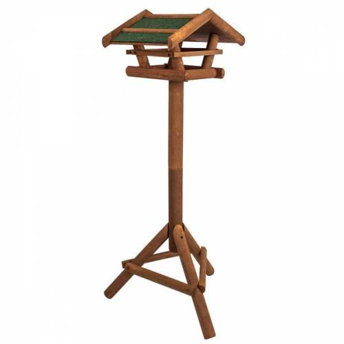 Skojig Vogelhaus Aus Holz Inkl. Ständer Ca. 46x22x44cm   Vogelhäuschen