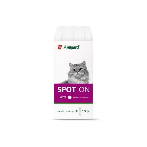 Amigard Spot-on Für Katzen, Natürlicher Zeckenschutz & Flohschutz
