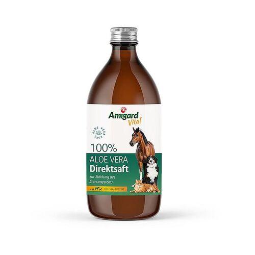 Amigard Aloe Vera Direktsaft Für Hunde, Katzen Und Pferde, 500ml