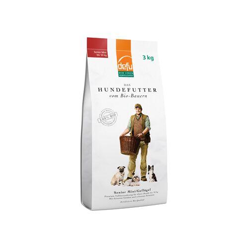 defu - dem Leben verpflichtet Defu Bio-hundefutter Senior Mini Geflügel