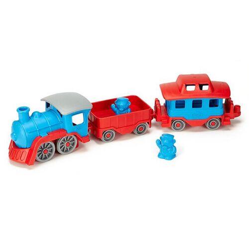 Green Toys Eisenbahn blau
