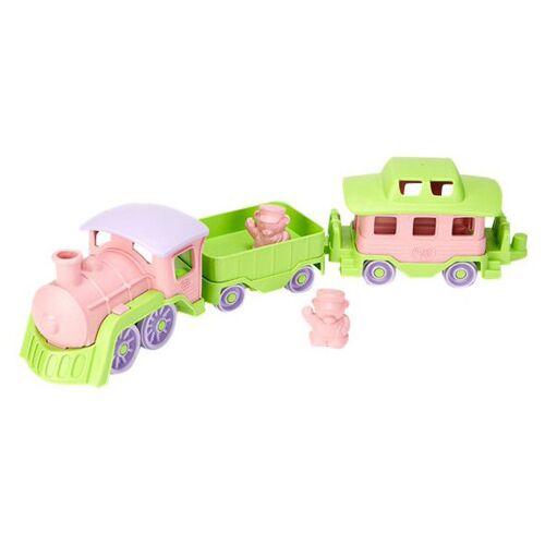 Green Toys Eisenbahn pink