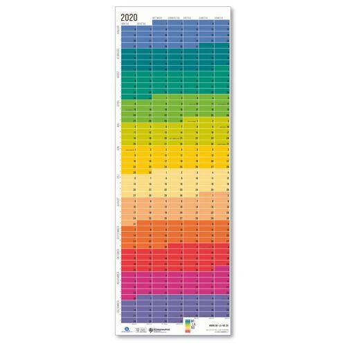 "Wi-La-No Wandkalender 2020 ""Regenbogen"" regenbogen"