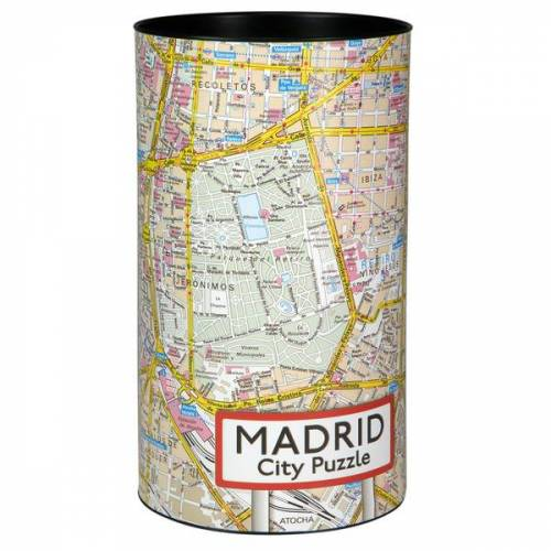 Extragoods City Puzzle - Madrid