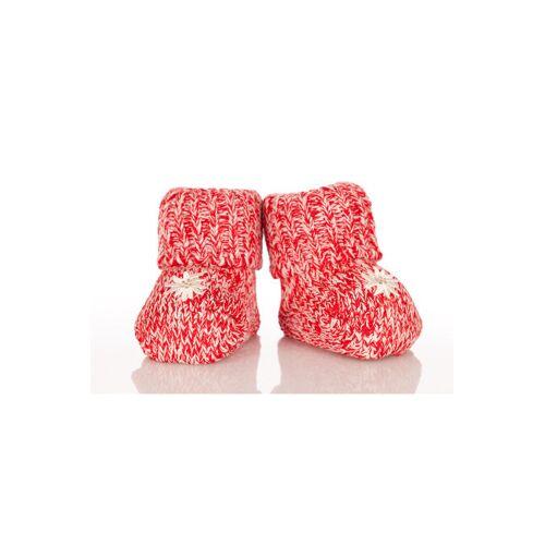 Alpensocks Trachten Baby Socken - BABY, Rot, One size