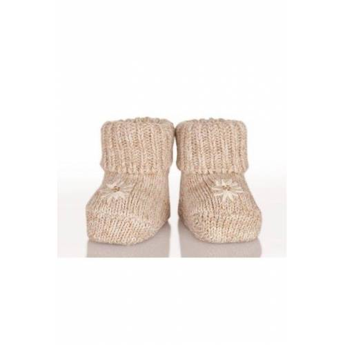 Alpensocks Trachten Baby Socken - BABY, Natur, One size