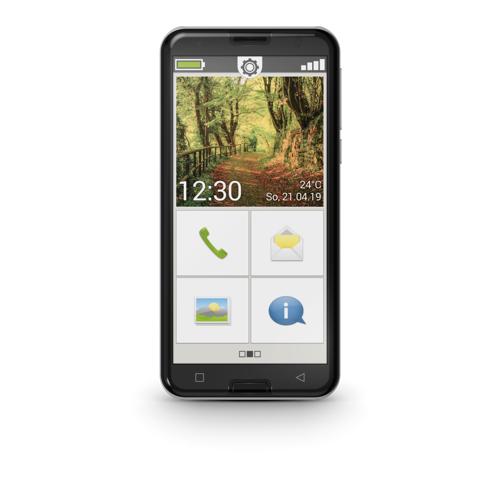 Emporia Smart.3 Mobiltelefon, schwarz DE Edition