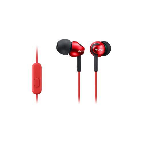 Sony MDR-EX110 In-Ear Kopfhörer, Rot