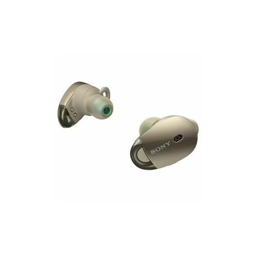 Sony WF-1000X True Wireless Headphones Gold
