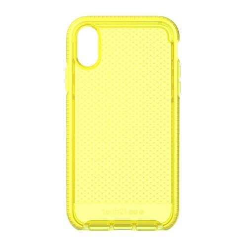 Tech21 Evo Check for iPhone XR - Neon Yellow