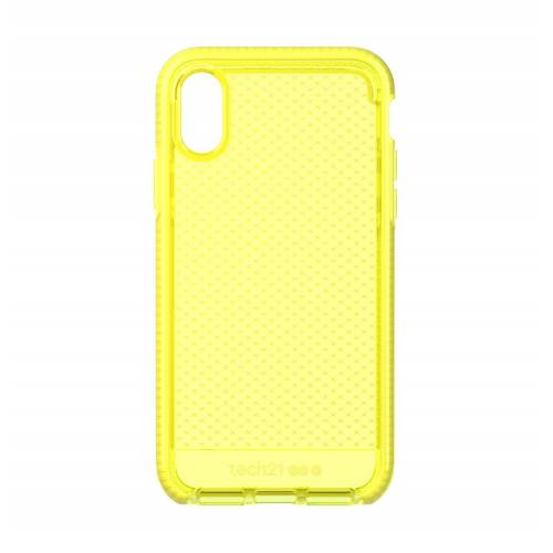 Tech21 Evo Check for iPhone XS Neon Yellow