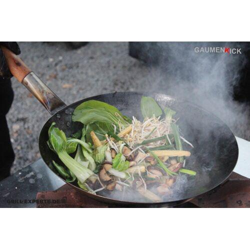 GRILL-EXPERTE.de WOK Quickie - Veggie oder mit Hühnchen