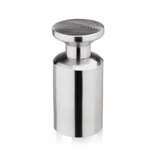 W-A-S Salzstreuer PROFI - Crom-Nickelstahl - H: 17cm - D: 8cm