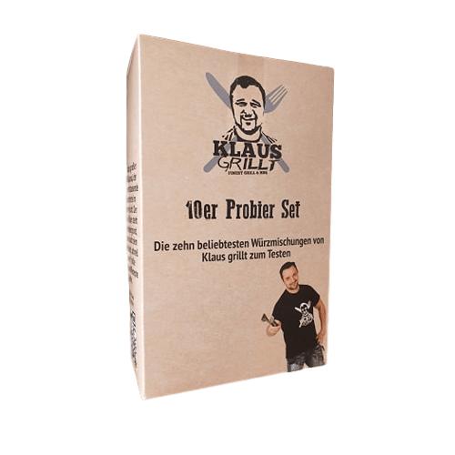 KLAUS-GRILLT Klaus Grillt 10er Probier Set - 10 x 100g - 10 Kostbarkeiten zum Probieren