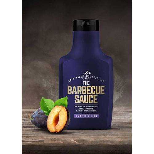 The-Barbecue-Sauce THE BARBECUE SAUCE - Rauchig Süß - auf Pflaumenbasis - GASTRO Gebinde 1100g Flasche
