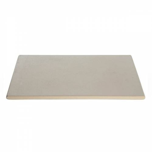 ALL-GRILL Pizzastein, rechteckig 41 x 36 x 1,5 cm - Cordierit Backstein