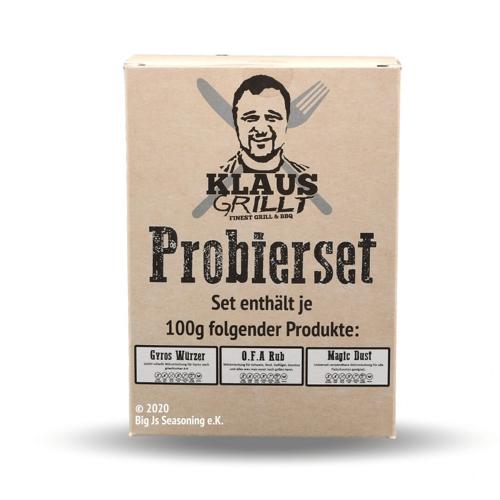 KLAUS-GRILLT Klaus Grillt Probier Set - 3 x 100g - OFA, Magic Dust, Gyros