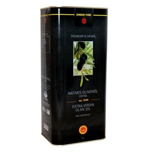 GREEK-FIRE GREEK FIRE 5 Liter Olivenöl Nativ Extra, Kanister