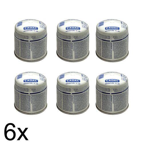 CADAC 6 x CADAC 190g Stech Gas-Kartusche (190g Butan-Propan-Gemisch) - Stechkartusche EN417