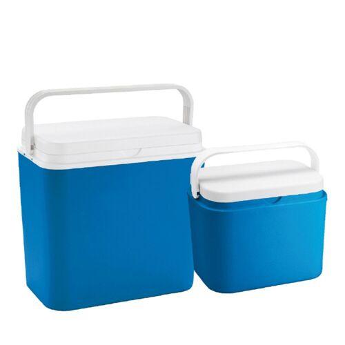 GORANDO Kühlbox-SET 24 +10 Liter - bis 9h kalte Getränke - 39x24x39cm / 38x20x26cm