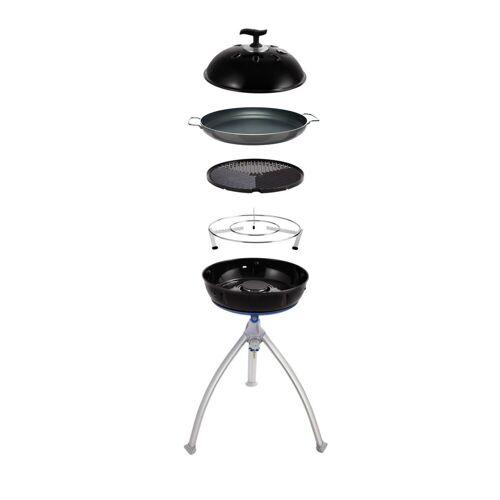 CADAC GRILLO CHEF 2 BBQ/PAELLA - 30mbar - inkl. Grillrost, Deckel, 36cm Paellpfanne und Topfständer