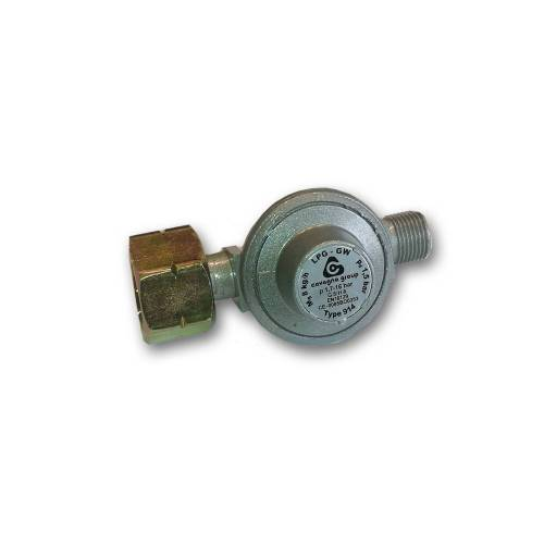 "TGO Druckgasregler HP 1703.9/15 - 8kg/h - 1,5bar, Kombi x G 3/8"" LH-KN"