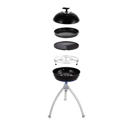 CADAC GRILLO CHEF 2 BBQ/PAN - 30mbar - inkl. Grillrost, Deckel, 36cm Pfanne und Topfständer