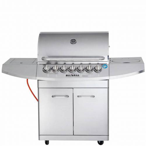 ALL-GRILL ALL'GRILL TOP-LINE - ALLROUNDER IV 4-flammig & Steakzone