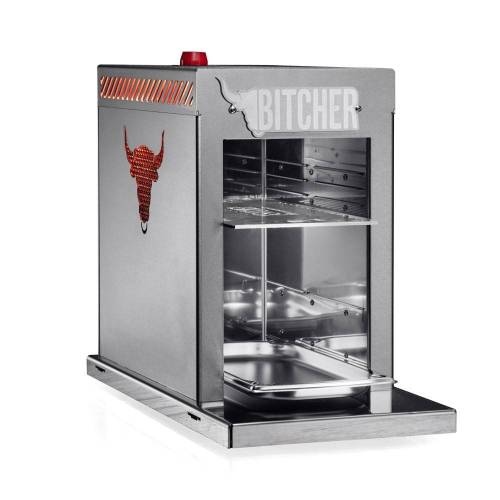 BITCHER OBERHITZEGRILL 800° Celsius! - gebürstet