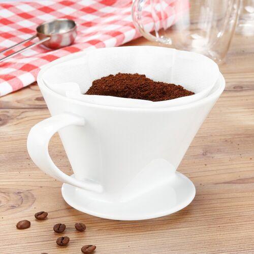 HI Kaffeefilter - Porzellan - 11 x 16 x 14cm - Größe 4