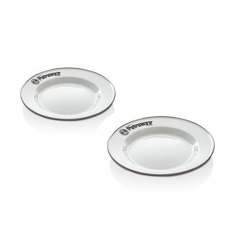 Petromax Emaille Teller weiß (2 Stück im Set)