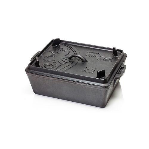 Petromax Kastenform K8 mit Deckel - gusseisere Backform