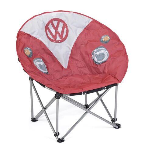 VW Collection - VW T1 Bus Sessel rot - faltbarer Stahlrahmen - max 100kg