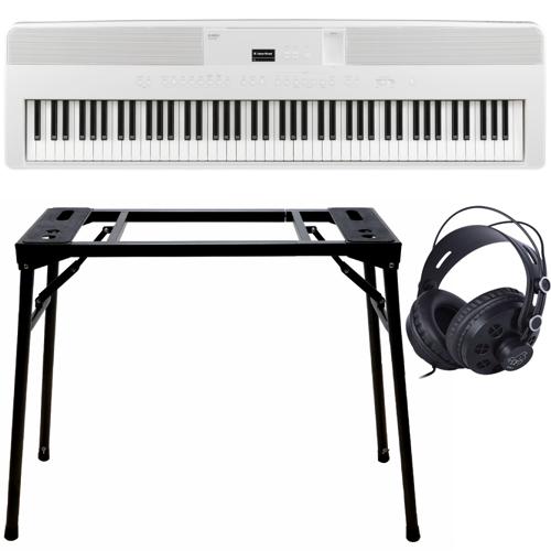 Kawai ES-520 Weiß + Keyboard-bank (DPS-10) & Kopfhörer (DPH-1)