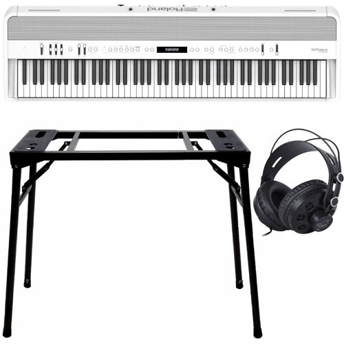 Roland FP-90X Weiß + Keyboard-bank (DPS-10) & Kopfhörer (DPH-1)
