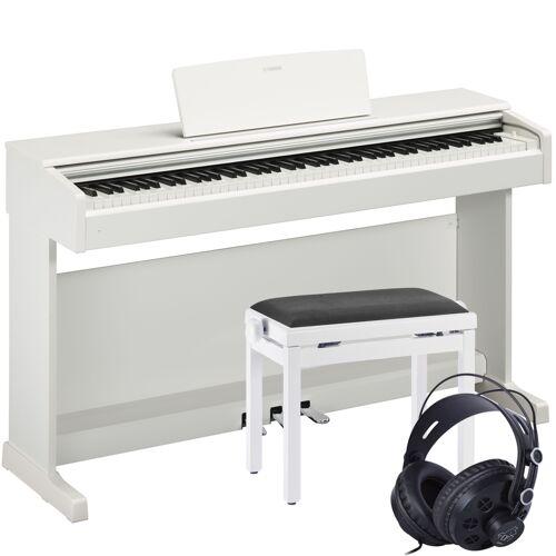 Yamaha Arius YDP-144 Digitalpiano Weiß Set
