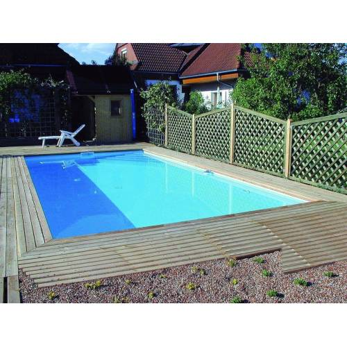 Pool-Set Achensee Top 40 8,00 x 4,00 m Ecktreppe