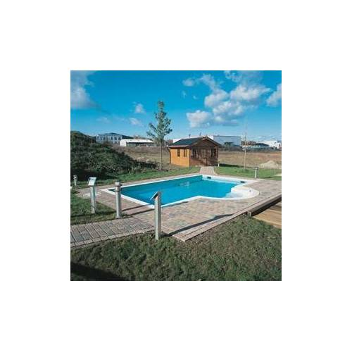 Schwimmbecken-Set Plus Stone 600, Folie 1,0 mm