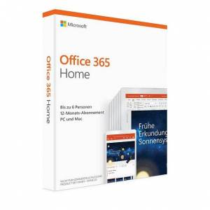 Microsoft Office 365 Home 6 Nutzer Download PKC Box