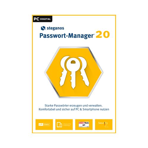 Steganos Passwort Manager 20 5 Geräte 1 Jahr Download