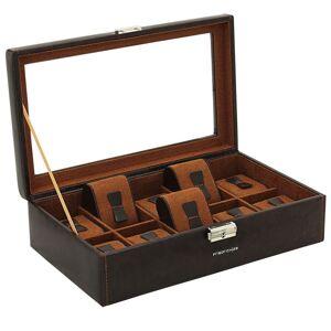 Friedrich Uhrenbox mit Sichtfenster Bond 10 - Braun