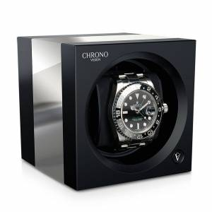 Chronovision Chronovision One - Schwarz Hochglanz Aluminium gebürstet